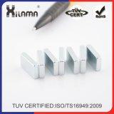 N35-N52 Forme permanente Neodymium Magnetic Segment Motor Industry Magnet