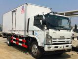 Camion di trasporto dell'alimento fresco di Isuzu delle 6 rotelle 7 tonnellate di camion del frigorifero