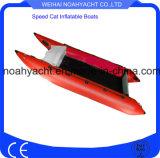 Шлюпки шлюпки RC скорости PVC пола переклейки складные раздувные