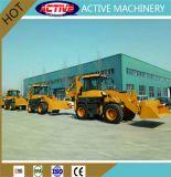 ACTIEVE Gloednieuwe ModelBackhoe van 2.5 Ton WZ30-25 Lader voor Verkoop