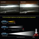 자동 6000lm 360 가벼운 LED H7 H4 H11 헤드라이트 차