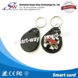 13.56MHz único Ntag213 RFID pasivo Keychain para la tarjeta del control de acceso