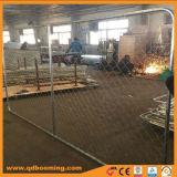 Galvanisé à chaud sur le fil de clôture temporaire de maillon de chaîne