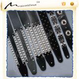 Os Tirantes de guitarra de couro Personalizado Musicalcase