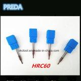 HRC60 резцы карбида каннелюр CNC 4 для золота