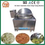 Lebensmittelproduktion-Geräten-Cer-halbautomatische Zwiebel, die Maschine frittiert