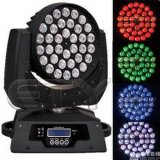 36pcs Cabezal movible LED 10W luz teñida