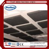 Panneau de plafond acoustique de laines de verre de noir de matériaux de Decortive