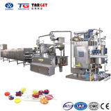 Bonbon dur rendant la ligne pour les professionnels de la fabrication en usine de la machine