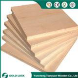 El mejor precio comercial Okoume Bintangor melamina o madera contrachapada de 1220x2440mm