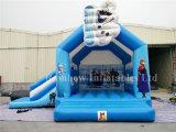 Castelo Bouncy congelado arco-íris para a venda