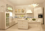 Mobilia della cucina dell'involucro del vinile degli armadi da cucina del PVC di disegno moderno