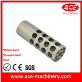 Plaque en aluminium usinée de support de moteur