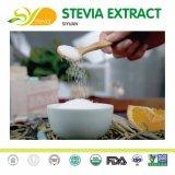 Gras Certifacate adoçante stevia aplicável para diabéticos Rebaudioside Extraia Stevia