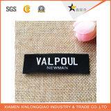Escritura de la etiqueta tejida ropa impresa poliester de la etiqueta engomada de la impresión de la etiqueta de la ropa de la insignia