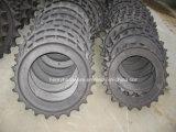 Стальная отливка, отливка сплава стальная для цепного колеса землечерпалки
