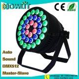 36pcs RGBW 10W 4en1 LED de interior de la Luz PAR