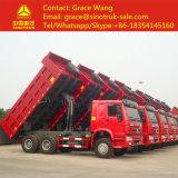 디젤 엔진 6*4 덤프 트럭의 도매 설명서 HOWO 무거운 팁 주는 사람 트럭