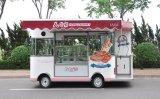 De Vrachtwagen van het Voedsel van het baksel/de Kar van het Voedsel met het Mooie Afbaarden en Schuilplaats