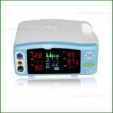 NIBP/SpO2/Temp/Pr를 가진 ICU 환자를 위한 소형 생활력 징후 모니터