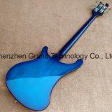 Rick 4003 Electric Bass Guitar em Hardware Cromado Azul (GB-81)