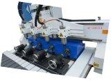 回転式および真空表が付いている彫版の家具のための多くのヘッド木工業CNCカーバーのルーター機械