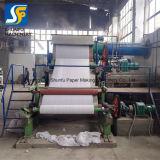 2 toneladas de papel higiénico de la capacidad de fabricación de máquinas de venta de fábrica