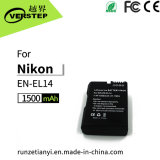 1500mAh bateria recarregável Bateria para câmara digital Nikon En-EL14 Enel14 Coolpix P7000