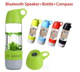 Neuer kreativer MultifunktionsBluetooth Lautsprecher mit Wasser-Flasche und Kompaß