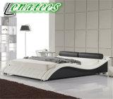 Un040 Diseños modernos muebles de dormitorio cama