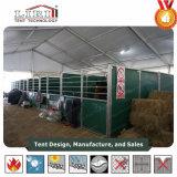 一流のテントの製造業者による馬の馬小屋のための移動可能なモジュラーAlumiumの玄関ひさしデザイン