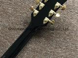 Custom Lp guitare électrique en rafale de couleur marron (BPL-534)