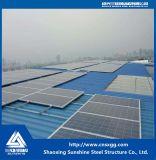 Montaggio galvanizzato della struttura d'acciaio - parentesi per il tetto del comitato solare