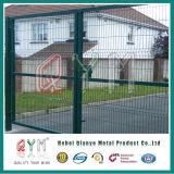 Покрынная PVC сваренная загородка сетки /Railway загородки хайвея ячеистой сети