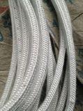 Corde de fibre de céramique ronde avec S. S. renfort de fil