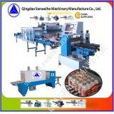 Machine à emballer secondaire de rétrécissement de bouteilles collectives