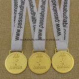 学校のロゴのカスタム金属の学校のサッカーメダル