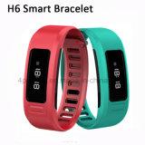 Wasserdichte Wristband Bluetooth 4.0 intelligentes Armband mit Eignung-Verfolger H6