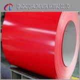 A cor revestiu a bobina de aço Prepainted com o PVC filmado