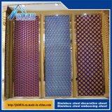 металлопластинчатая декоративная плита нержавеющей стали плиты 201 304 316