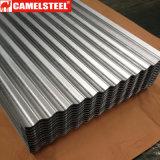 Material para techos galvanizado metal prepintado de la hoja de acero