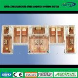 Il disegno personalizzato ha prefabbricato la Camera fabbricata costruzione prefabbricata del contenitore della villa del comitato di Sanwich