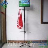 Rek van de Paraplu van de Wisser van het Metaal van het Rek van de Goederen van sporten het Roterende