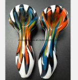 De Waterpijp van het Glas van de Pijp van het Patroon van de kleur voor de Pijp van de Filter van de Terugwinning