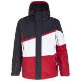 2015의 Mens는 코팅 나일론 스키 재킷을 방수 처리한다
