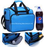 40 peut le sac isolé par déjeuner thermique bleu de refroidisseur de grande capacité pour le pique-nique