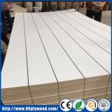 1220x2440mm 2mm de papel de poliéster recubierto de frente de la Junta de MDF de madera contrachapada superpuesta