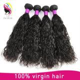 バージンのRemyの自然な波のブラジルの人間の毛髪の拡張