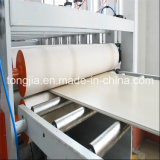 PVC木製のプラスチック構築フレームワークパネルシートの版機械