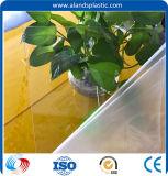 Haut de transmittance Feuille de verre acrylique clair